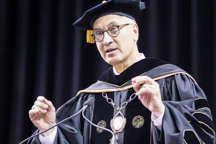 CU President Mark Kennedy commencement speech