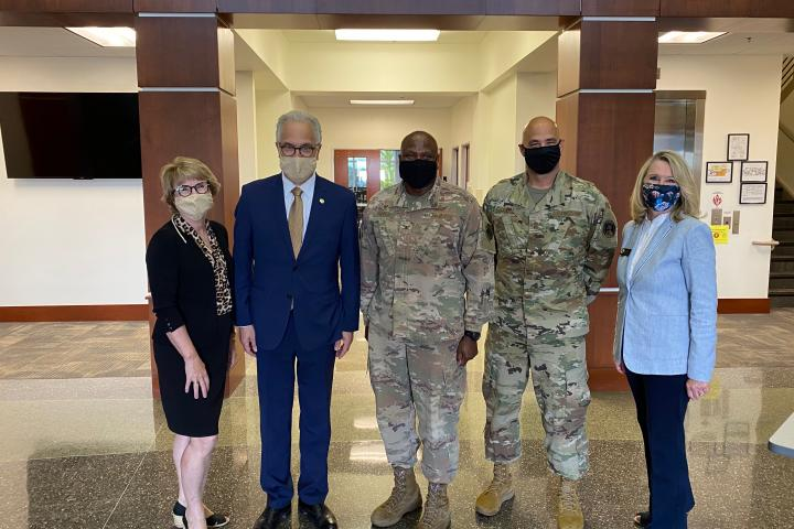 CU Group Meets Buckley Air Force Base Leaders